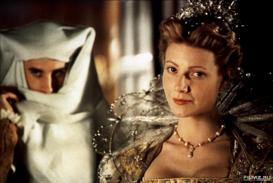 кадры из фильма Влюбленный Шекспир Джозеф Файнс, Гвинет Пэлтроу,