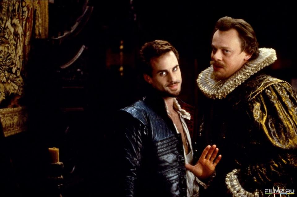 кадры из фильма Влюбленный Шекспир Джозеф Файнс,