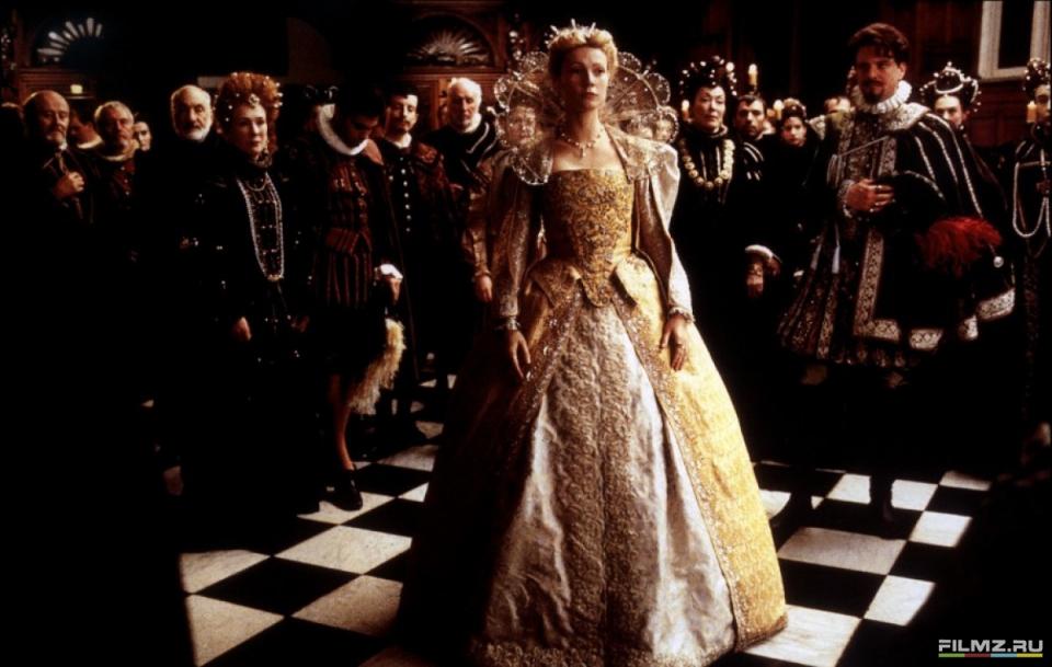 кадры из фильма Влюбленный Шекспир Колин Ферт, Гвинет Пэлтроу,