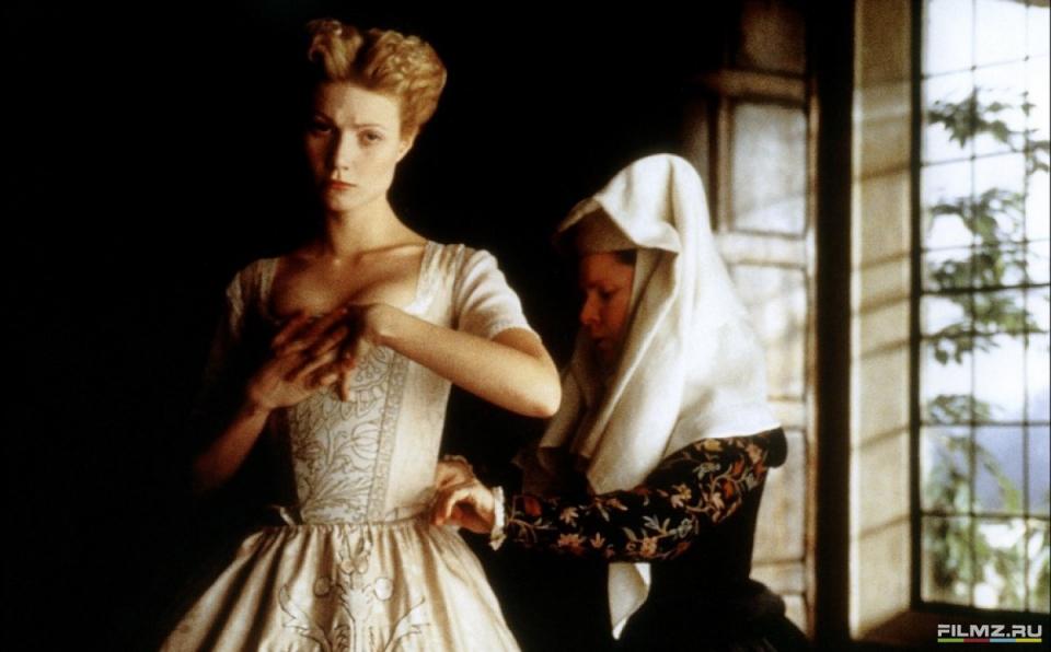 кадры из фильма Влюбленный Шекспир Имельда Стонтон, Гвинет Пэлтроу,