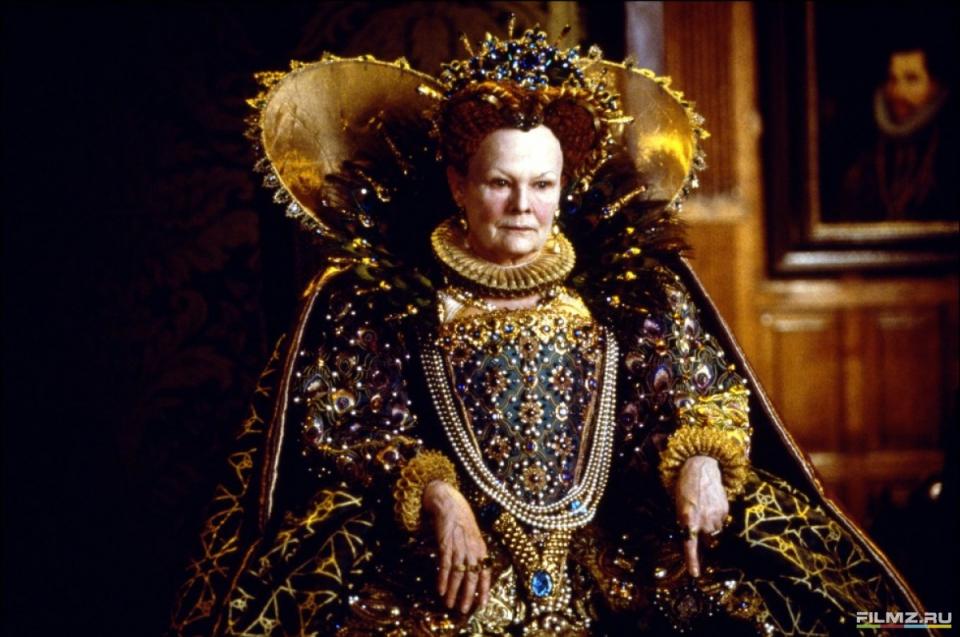кадры из фильма Влюбленный Шекспир Джуди Денч,