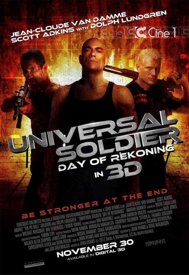 плакат фильма постер Универсальный солдат 4