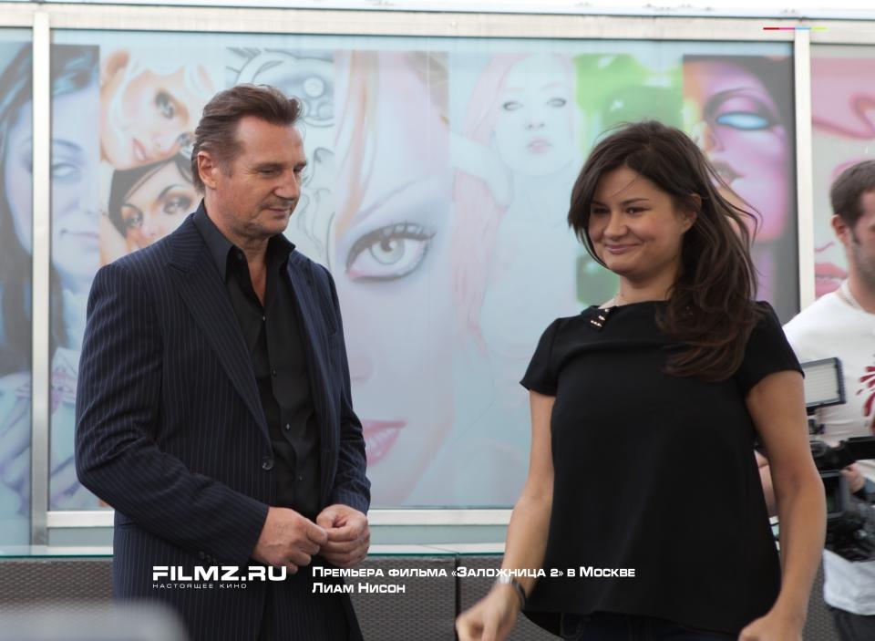 фотосессия Премьера фильма «Заложница 2» в Москве Лиам Нисон,