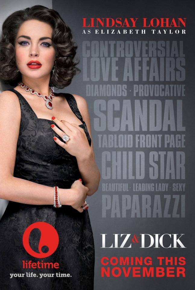 плакат фильма постер Лиз и Дик*