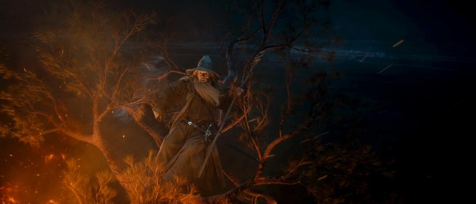 кадры из фильма Хоббит: Нежданное путешествие Иэн МакКеллен,