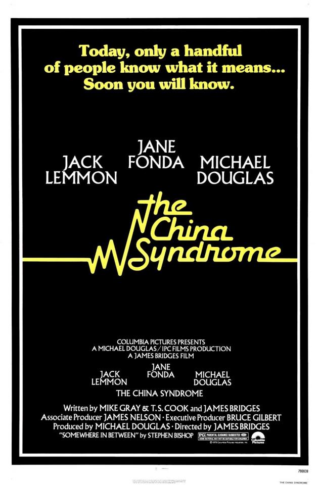 плакат фильма постер Китайский синдром