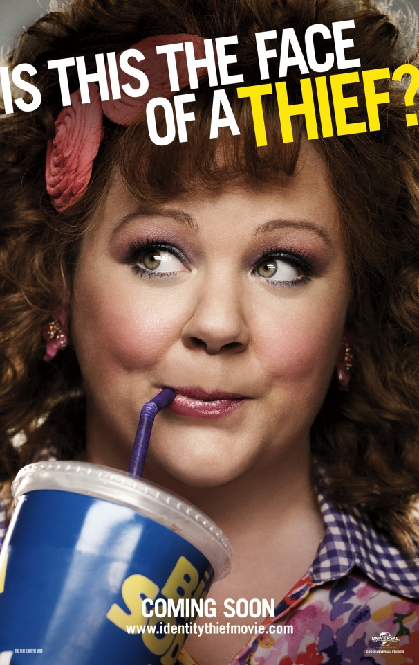 плакат фильма характер-постер Поймай толстуху, если сможешь