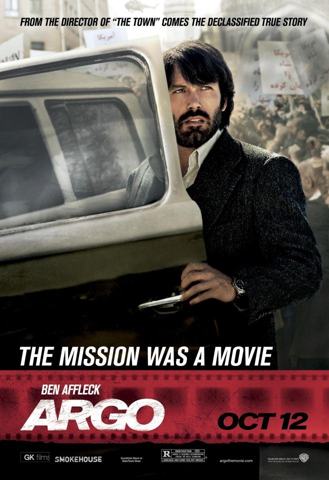 плакат фильма характер-постер Операция «Арго»