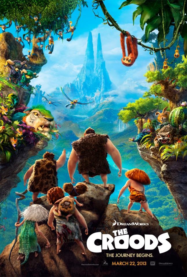 плакат фильма постер Семейка Крудс