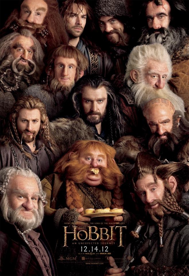 плакат фильма характер-постер Хоббит: Нежданное путешествие