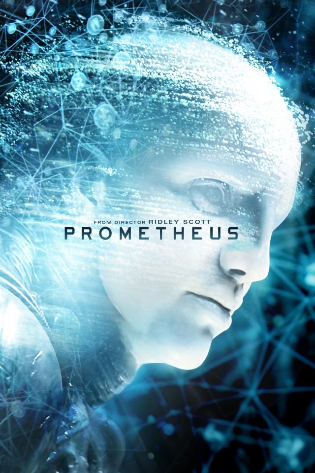 плакат фильма Blu-Ray Прометей