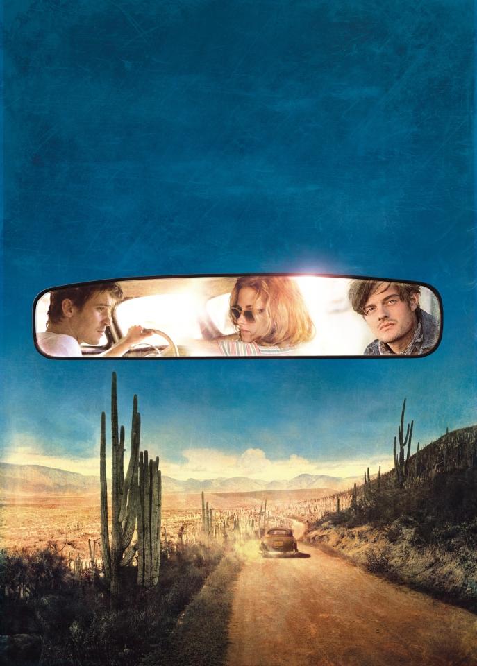 плакат фильма постер textless На дороге