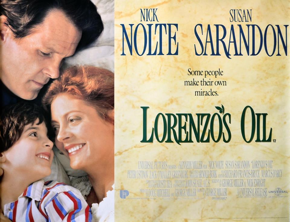 плакат фильма постер Масло Лоренцо