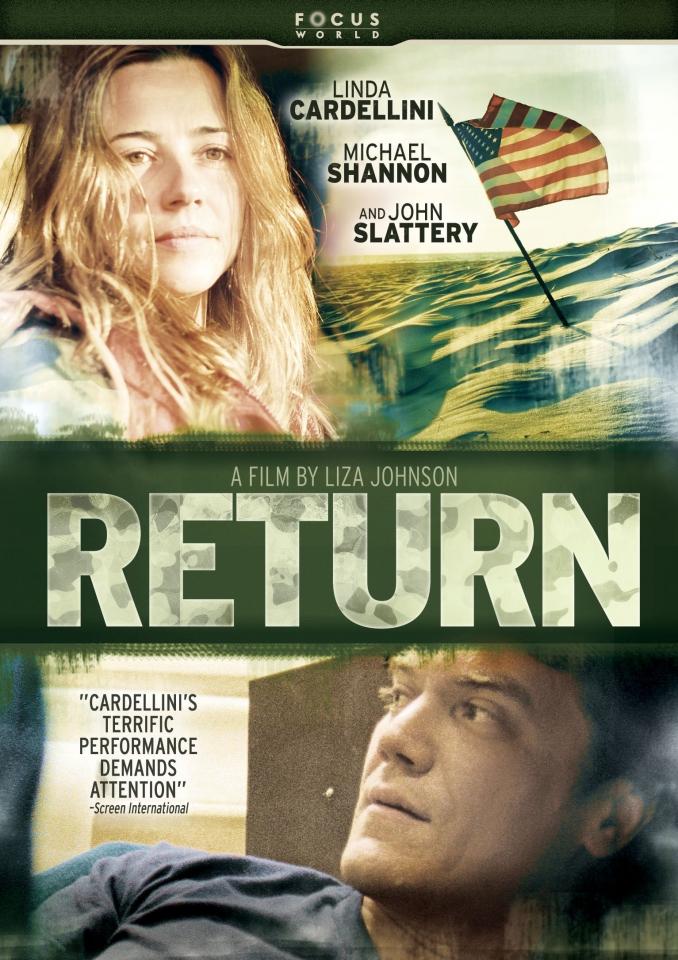 плакат фильма DVD Возвращение*