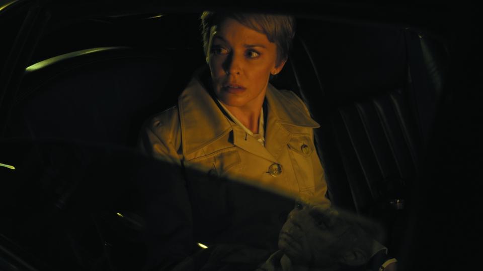 кадры из фильма Корпорация «Святые моторы» Кайли Миноуг,