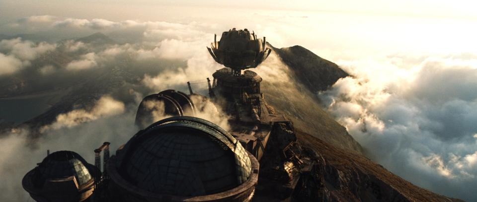 кадры из фильма Облачный атлас