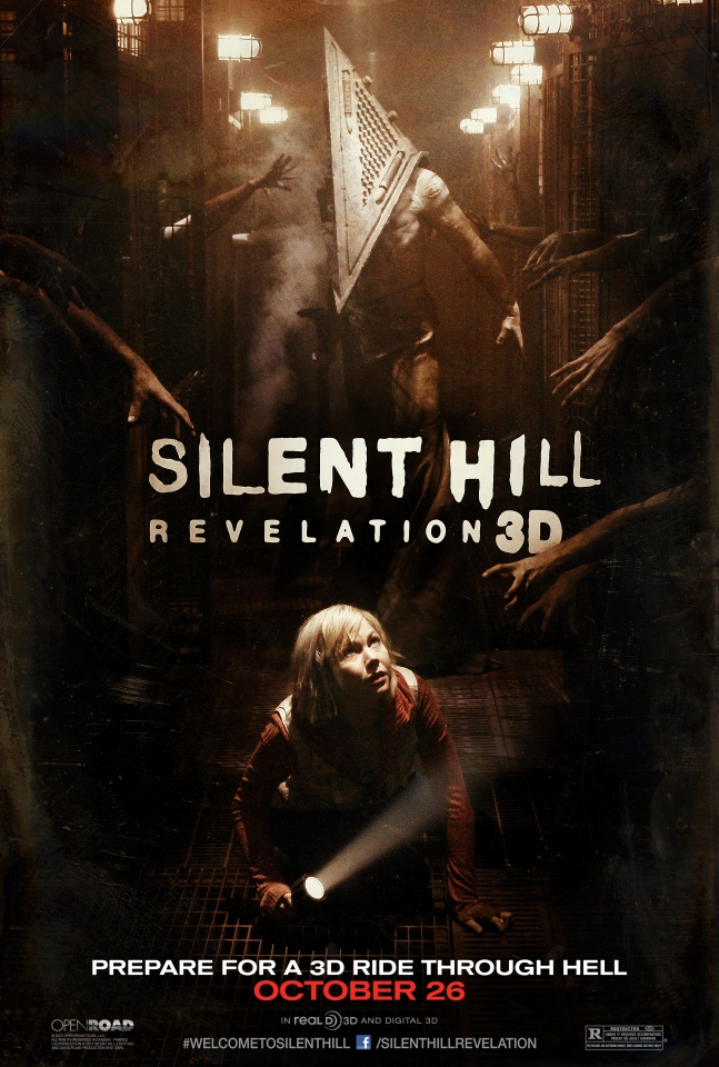 плакат фильма постер Сайлент Хилл 2 3D