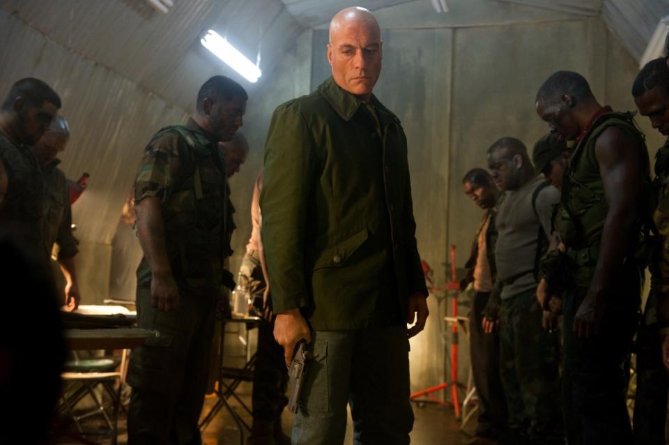 кадры из фильма Универсальный солдат 4 Жан-Клод Ван Дамм,