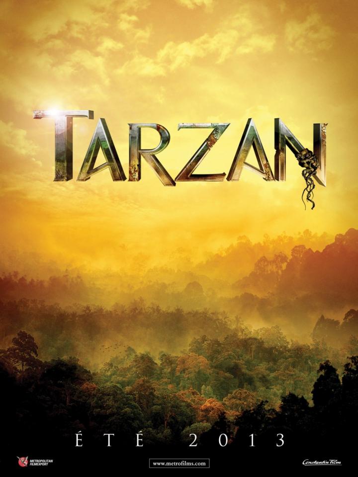 плакат фильма тизер Тарзан