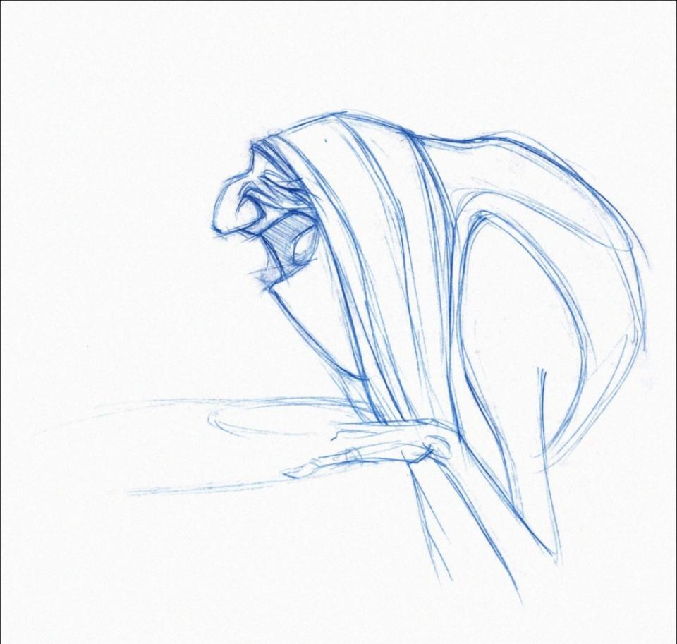 концепт-арты Трио из Бельвилля