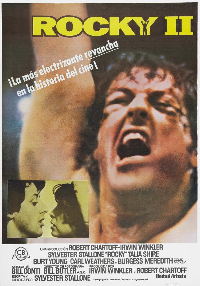 плакат фильма Рокки II
