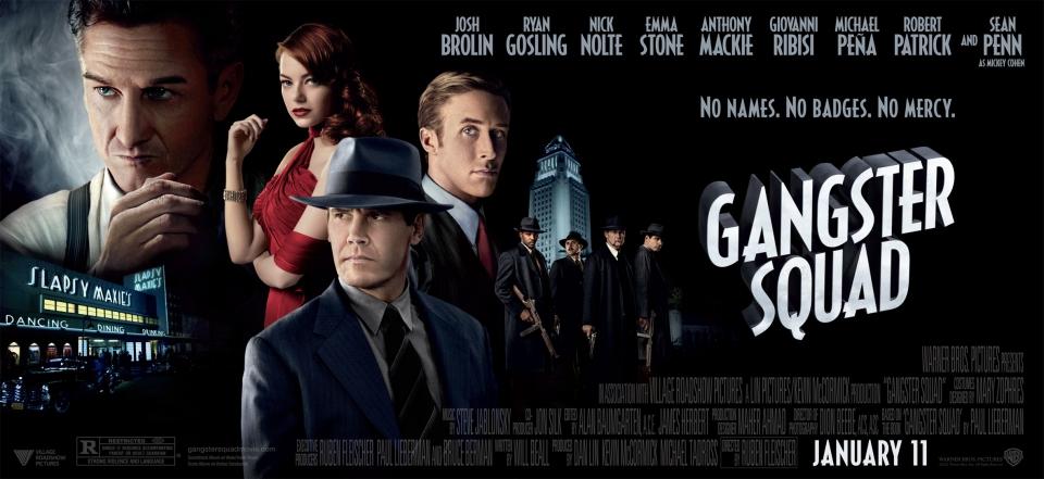 плакат фильма баннер Охотники на гангстеров