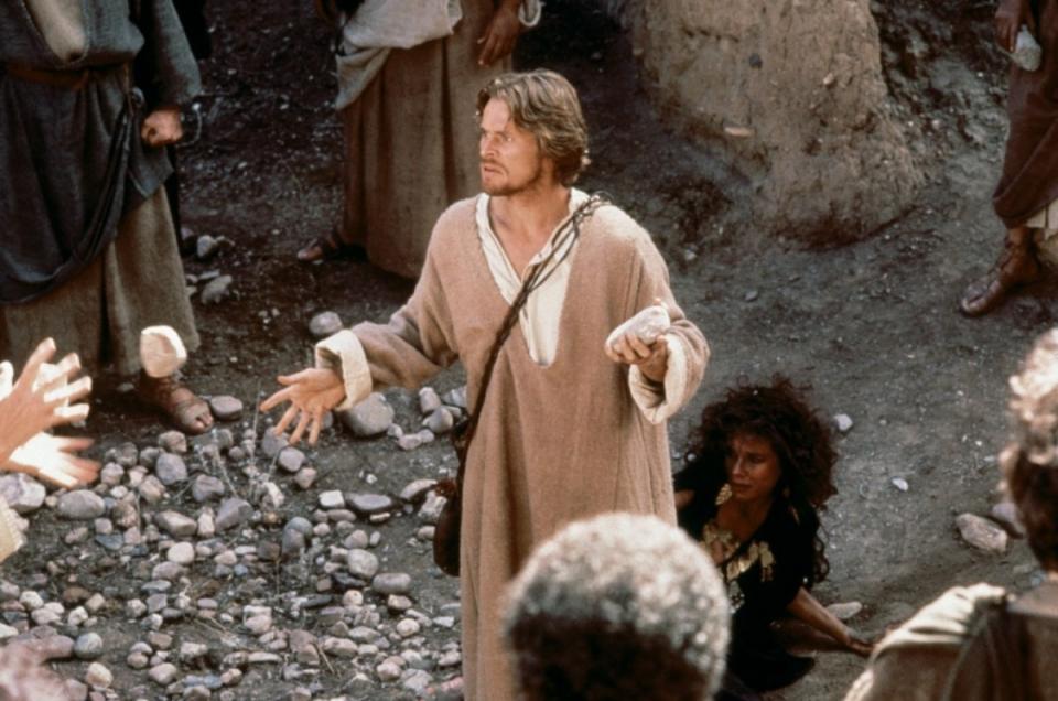 кадры из фильма Последнее искушение Христа Барбара Херши, Уиллем Дэфо,