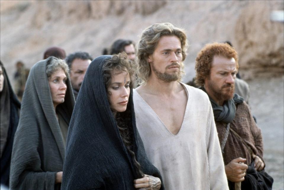 кадры из фильма Последнее искушение Христа Барбара Херши, Харви Кайтел, Уиллем Дэфо,