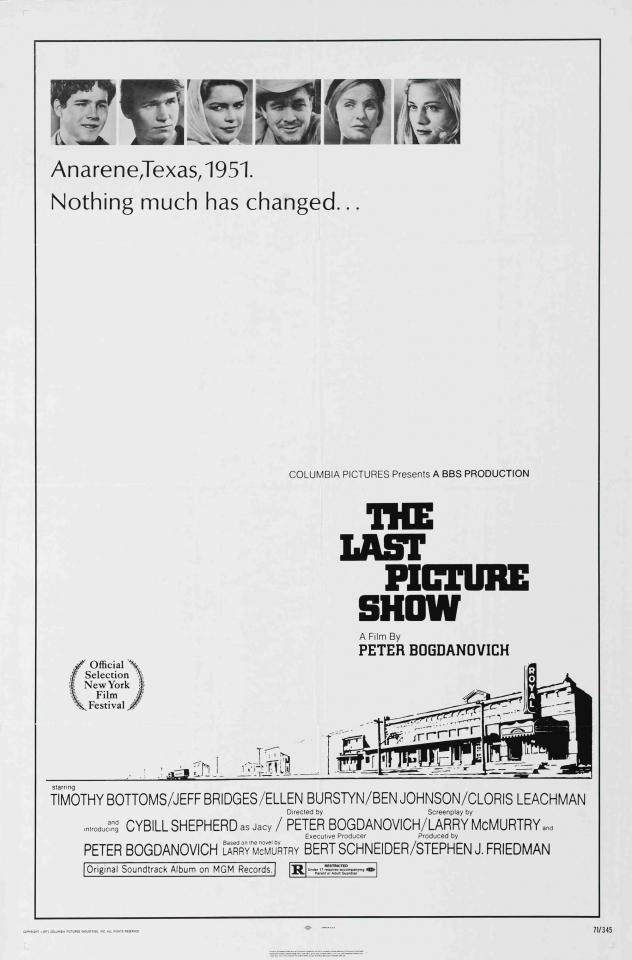 плакат фильма постер Последний киносеанс