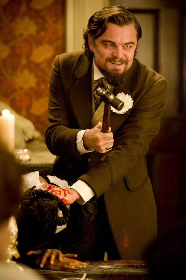 кадры из фильма Джанго освобожденный Керри Вашингтон, Леонардо ДиКаприо,