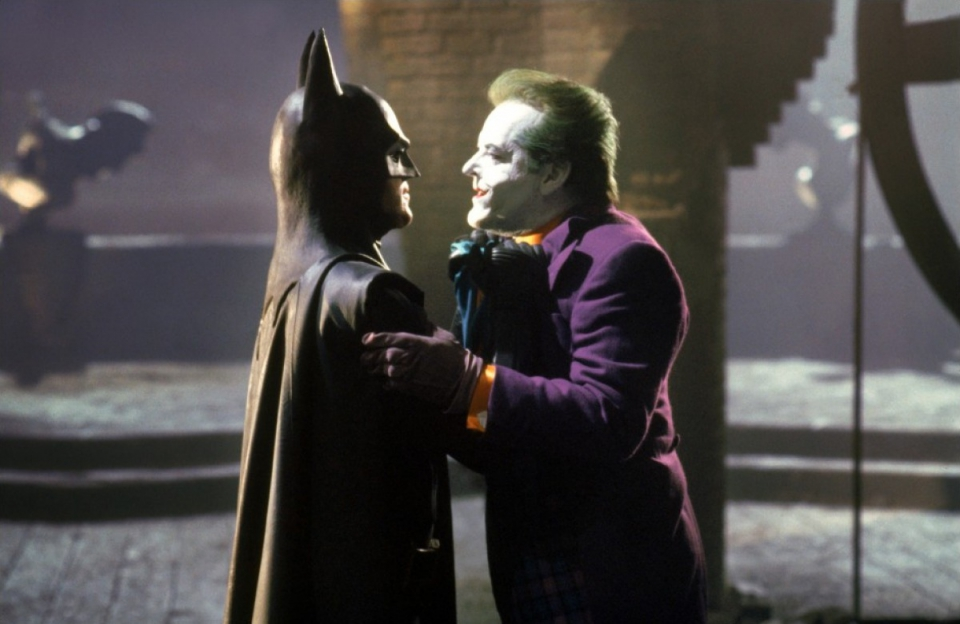 кадры из фильма Бэтмен Джек Николсон, Майкл Китон,