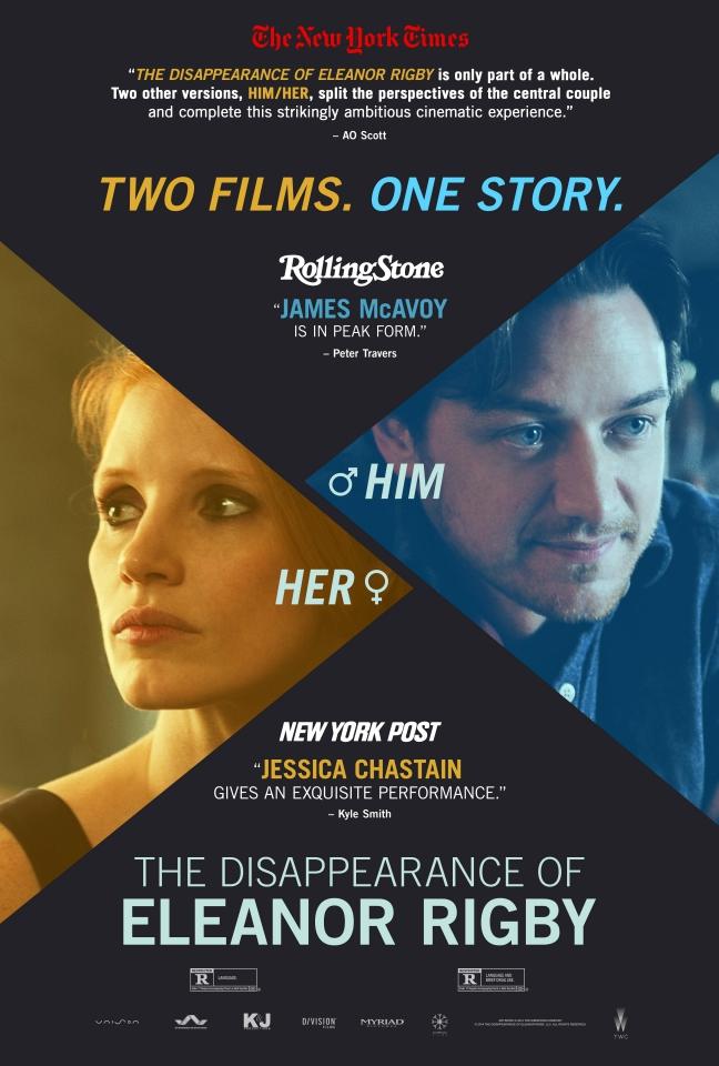 плакат фильма постер Исчезновение Элеанор Ригби: Он