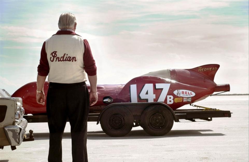 кадры из фильма Самый быстрый «Индиан» Энтони Хопкинс,