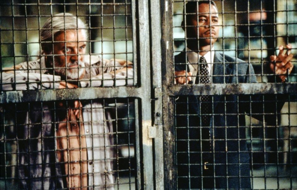 кадры из фильма Инстинкт Энтони Хопкинс, Куба Гудинг-мл.,