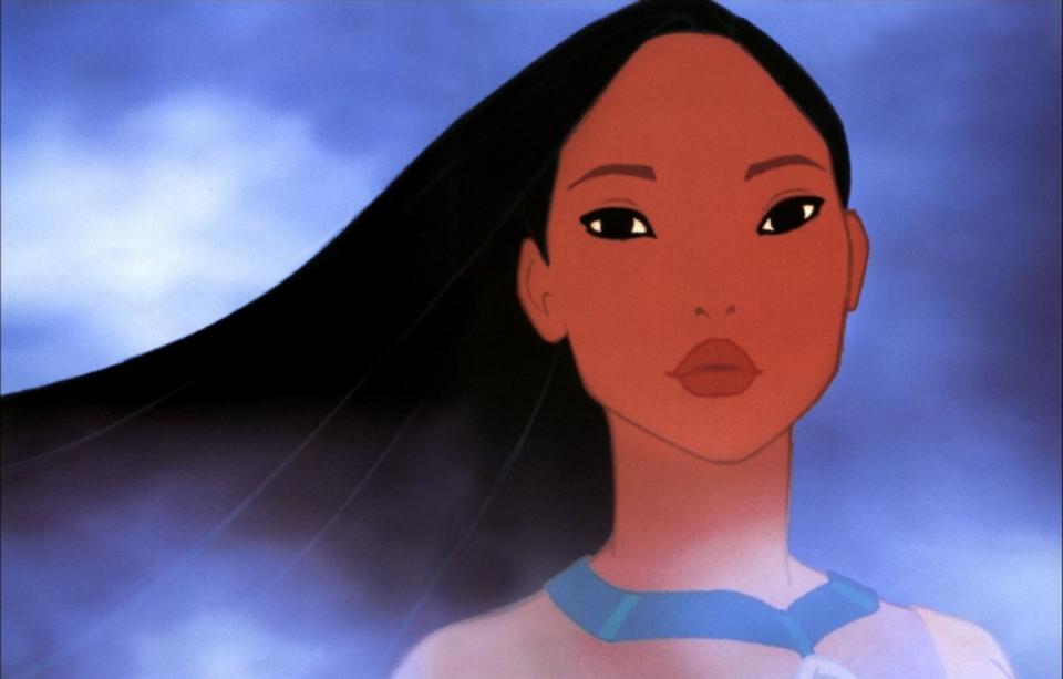 кадры из фильма Покахонтас