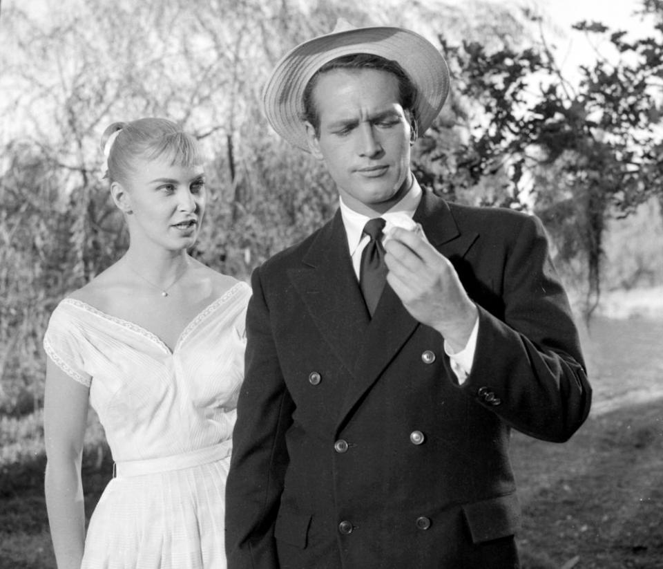 кадры из фильма Долгое жаркое лето Пол Ньюман, Джоанна Вудворд,