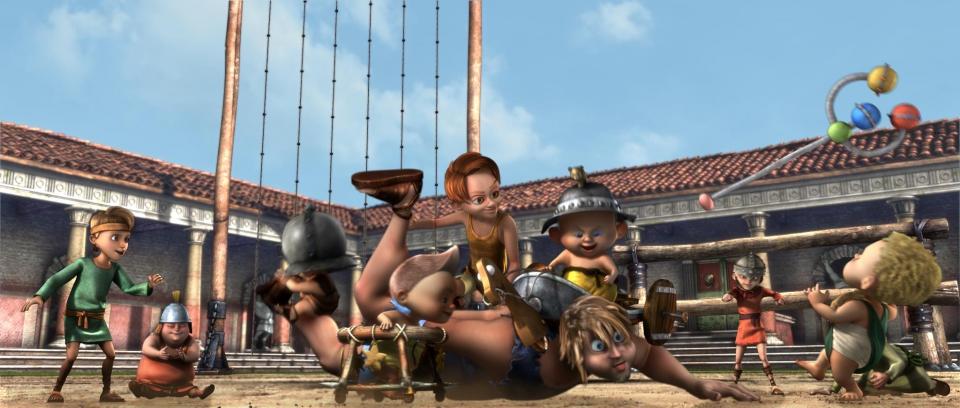 кадры из фильма Гладиаторы Рима