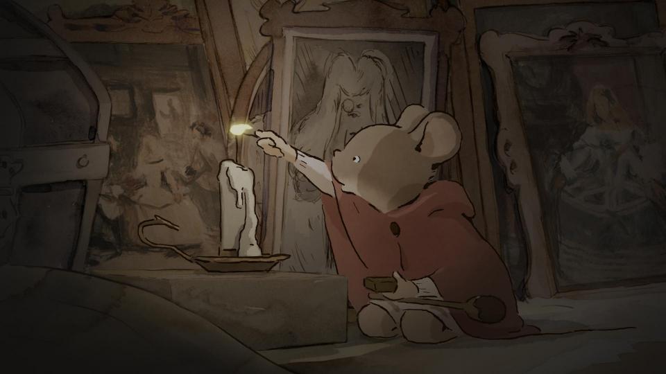 кадры из фильма Эрнест и Селестина: Приключения мышки и медведя