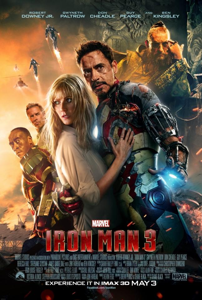 плакат фильма IMAX-постер Железный человек 3