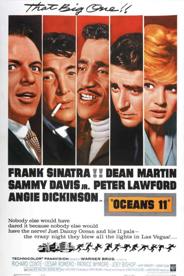 плакат фильма Одиннадцать друзей Оушена
