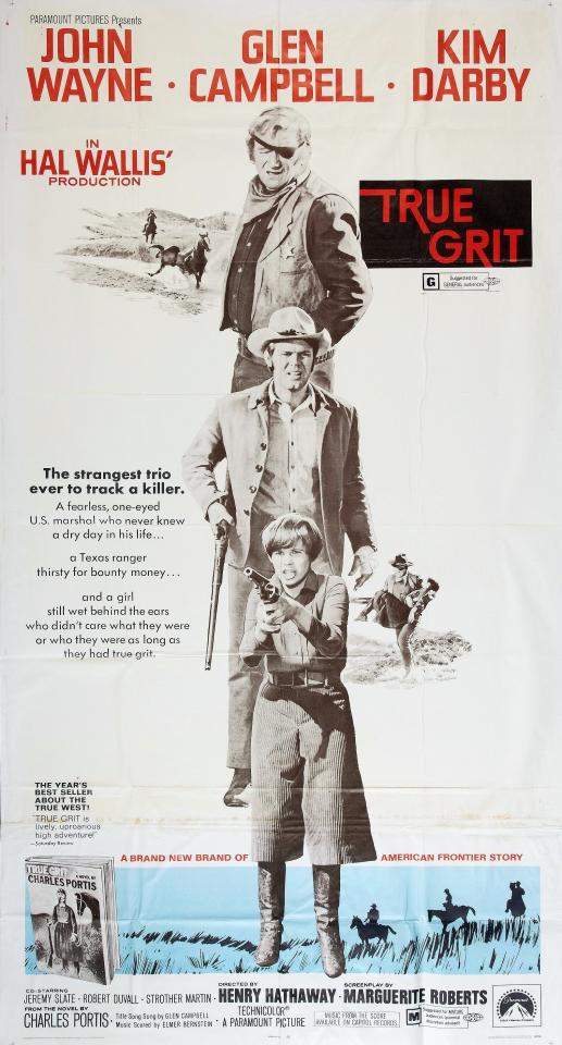 плакат фильма баннер Настоящее мужество