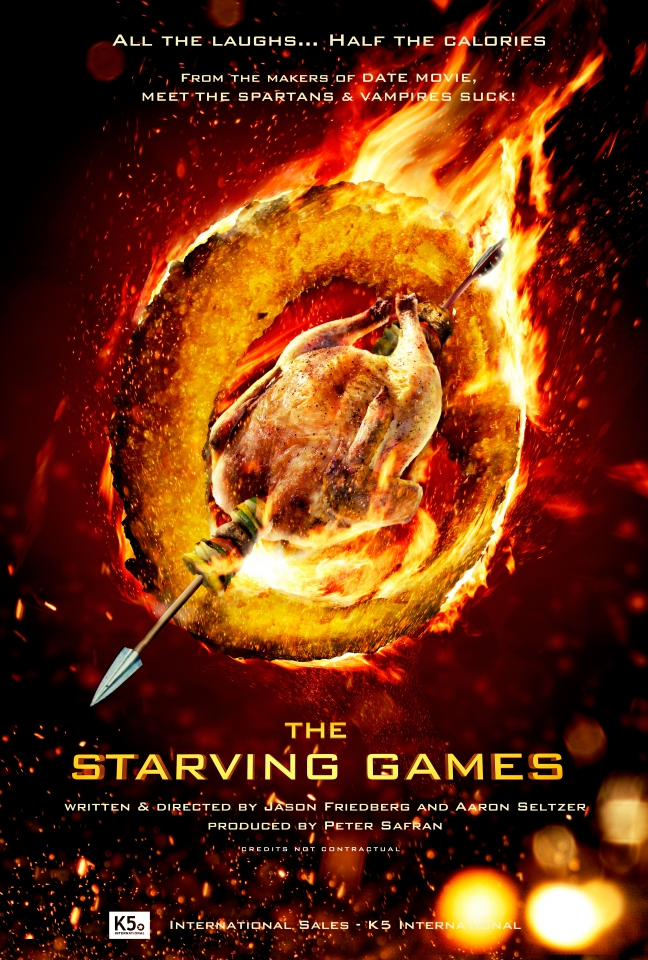 плакат фильма постер Очень голодные игры