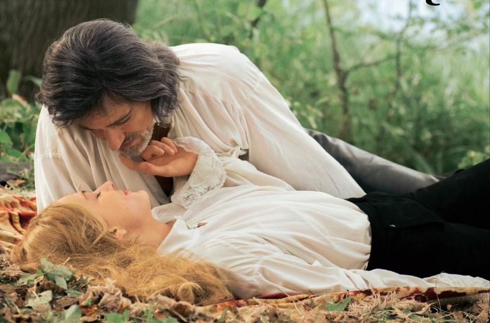кадры из фильма Анжелика, маркиза ангелов Нора Арнецедер, Жерар Ланвен,