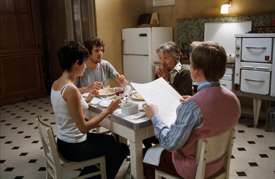 кадры из фильма Просто вместе Франсуаза Берти, Лоран Стокер, Гийом Кане, Одри Тоту,