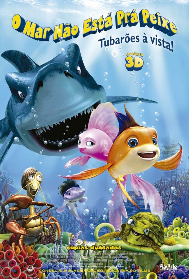 плакат фильма постер Риф 3D
