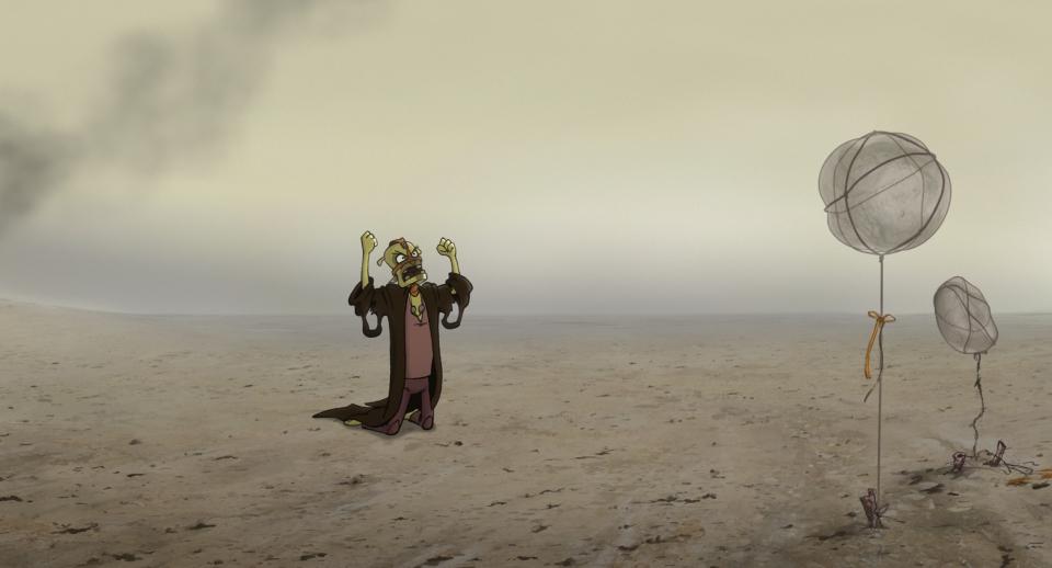 кадры из фильма Ку! Кин-дза-дза