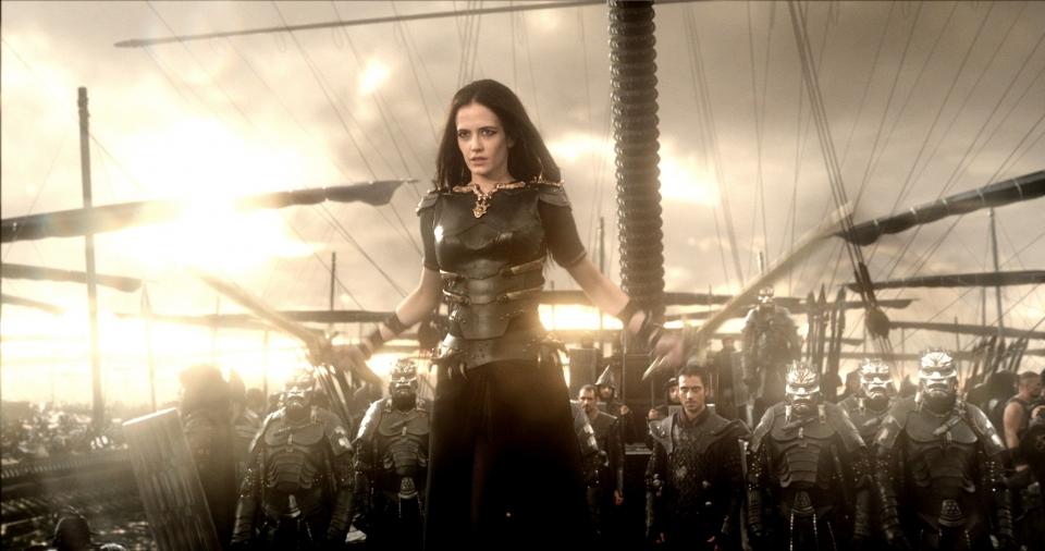 кадры из фильма 300 спартанцев: Расцвет империи Ева Грин,