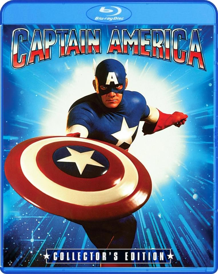 плакат фильма Blu-Ray Капитан Америка