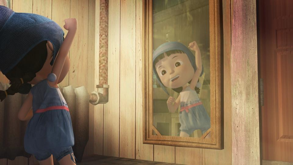 кадры из фильма Приключения Маши в стране чудес