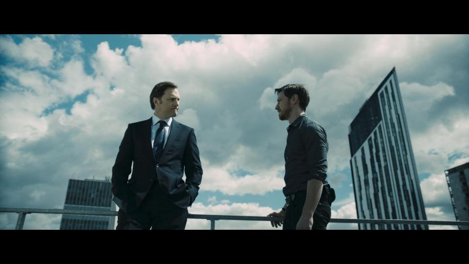 кадры из фильма Добро пожаловать в капкан Дэвид Моррисси, Джеймс МакЭвой,